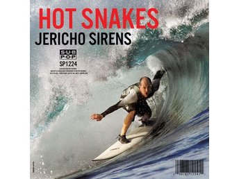 Hot Snakes: Jericho sirens (Translucent) (Vinyl LP + Download)
