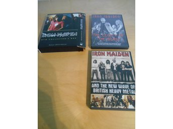 DVD - Iron Maiden - COLLECTORS BOX - 2 dvds