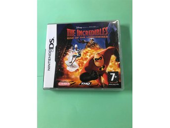 Nintendo DS - The Incredibles - Rise of the Underminer