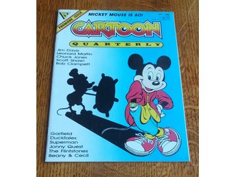 Cartoon Quaterly nr 1 1988 / VF / Mickey Mouse is 60 / mycket snygg