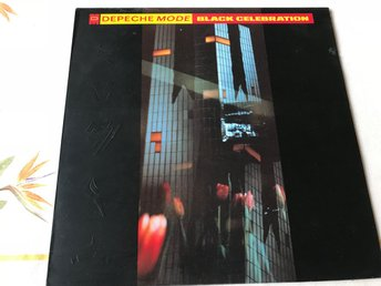 DEPECHE MODE - BLACK CELEBRATION LP 1986