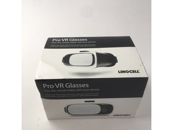 Linocell, VR glasögon, Pro VR Glasses, Svart