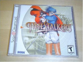 TIME STALKERS SEGA DREAMCAST USA NTSC *NYTT*