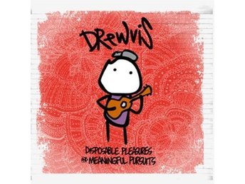Drewvis ?? Disposable Pleasures & Meaningful Pursuits - CD NY - FRI FRAKT