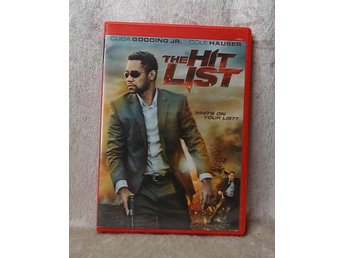 THE HIT LIST - Cuba Gooding Jr - DVD