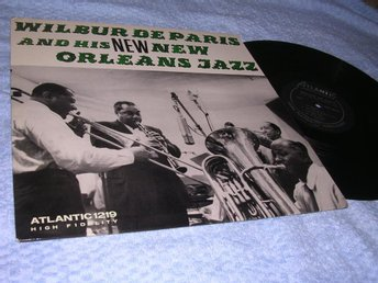 Wilbur De Paris - New Orleans Jazz (LP) US 56 EX/EX