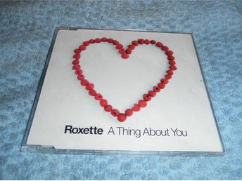Roxette - A Thing About You (CD-maxi) 3 trk EU 2002 Mint!! Nyskick