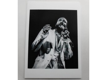 MARVIN GAYE - Live, Rotterdam 1980 - Verhorst - *A4*-print NME!