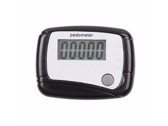 Stegräknare Pedometer Portable Mini Digital LCD Running Jogging Step Pedometer