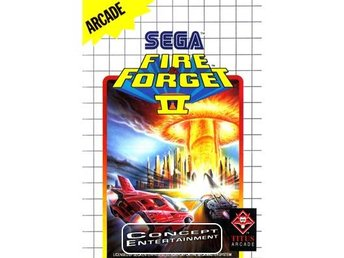 FIRE & FORGET 2 II /AND (i box) till Sega Master System
