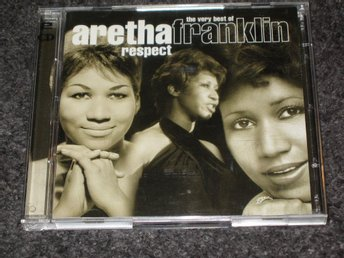 CD, Aretha Franklin, soul, blues, pop, rock. 2CD.
