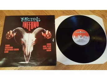 Various ‎– Metal Inferno KKLP 103 Venom, Witchfinder General, Demon, Angelwitch