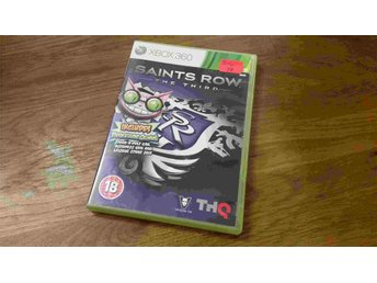 SAINTS ROW THE THIRD XBOX 360 BEG