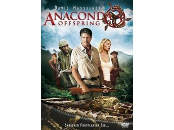 ANACONDA 3 ¤ OFFSPRING ¤ DVD ¤ DAVID HASSELHOFF ¤ UTGÅTT ¤