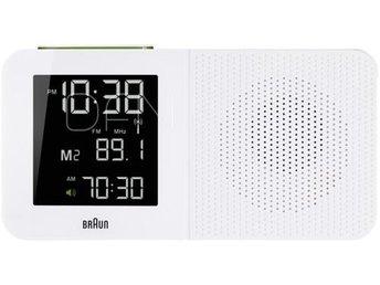 Braun BNC 010 Global radiokontrollerad Alarm Radio vit - Höganäs - Braun BNC 010 Global radiokontrollerad Alarm Radio vit - Höganäs