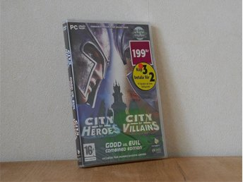 100% New * City of Heroes & City of Villains: Good Versus Evil Edition