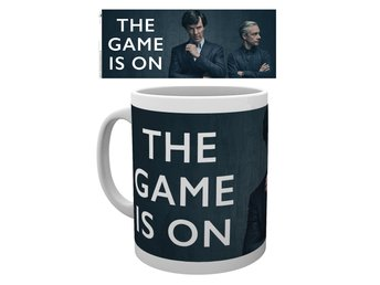 Mugg - TV - Sherlock The Game Is On (MG2112)