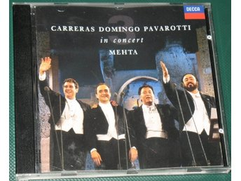 Carreras Domingo Pavarotti -- 1990 -- CD