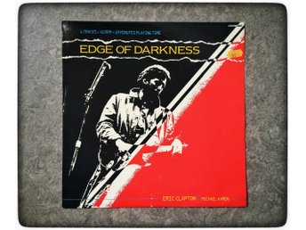 Eric Clapton with Michael Kamen ‎Edge Of Darkness 1985 RARE vinyl BBC records