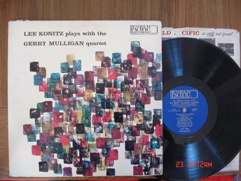 LEE KONITZ /GERRY MULLIGAN Quartet, LP,Jazz