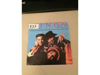Salt ´N´Pepa You Showed Me singel 1991 Next Plateau Records