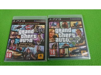 GTA Episodes From Liberty City & 5 Playstation 3 PS3