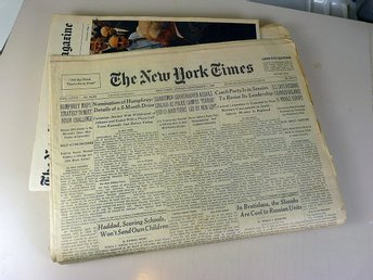 New York Times 1968 komplett / Complete New York Times 1968