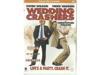 WEDDING CRASHERS - OWEN WILSON   (SVENSKT TEXT )
