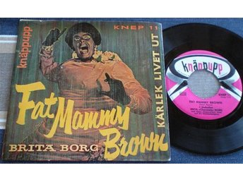 Brita Borg EP/PS Fat Mammy Brown 1957
