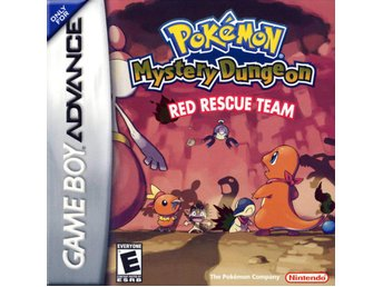 Pokemon Mystery Dungeon: Red Rescue Team - Gameboy Advance