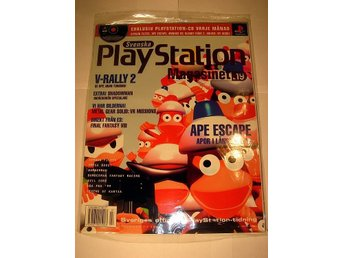 PLAYSTATION 19  NY CD  7/1999  APE ESCAPE  I ORIGINALPLAST