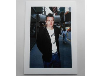MORRISSEY - The Smiths - New York City, 1991 - Zuffante - *A4*-print NME!