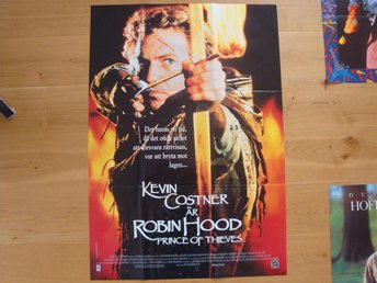 ROBIN HOOD prince of thieves 70x100 1990 Kevin Costner