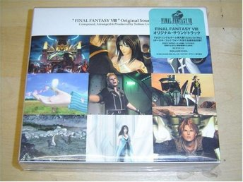 FINAL FANTASY 8 VIII ORIGINAL SOUNDTRACK MUSIK *NYTT*