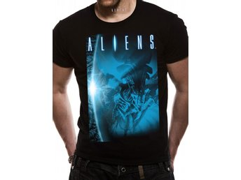 ALIEN - BLUE (UNISX)  T-Shirt - Medium