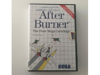 AFTER BURNER - Sega Master System - Svensksålt