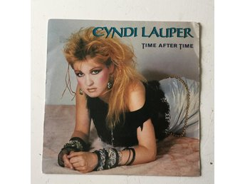 "CYNDI LAUPER - TIME AFTER TIME‎. (MVG 7"" SINGEL)"