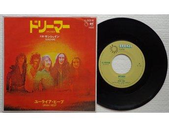 "URIAH HEEP 'Dreamer / Sunshine' 1973 Japan 7"" - Bröndby - URIAH HEEP 'Dreamer / Sunshine' 1973 Japan 7"" - Bröndby"
