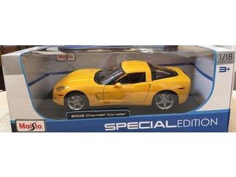 2005 Corvette C6 Coupé. Maisto 1.18.. - Genarp - 2005 Corvette C6 Coupé. Maisto 1.18.. - Genarp