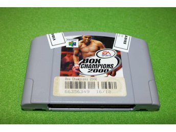Box Champions 2000 N64 Nintendo 64 - Västerhaninge - Box Champions 2000 N64 Nintendo 64 - Västerhaninge