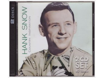 HANK SNOW     COUNTRY INSPIRATION    2CD