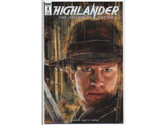 Highlander: The American Dream # 4 SUB Cover NM Ny Import