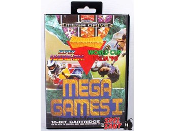 Mega Games 1 (Svensk Version)