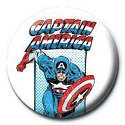 Captain America Pinn Retro