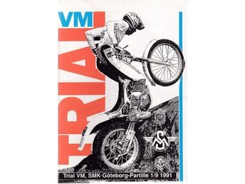 VM i Trial Partille 1991. Program