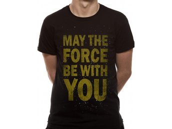 STAR WARS - FORCE TEXT (UNISEX) - Medium