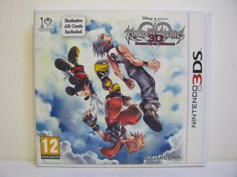 Nintendo 3DS Kingdom Hearts Dream Drop Distance Nytt