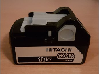 NYTT Hitachi batteri 18V 5,0Ah Li-ion!