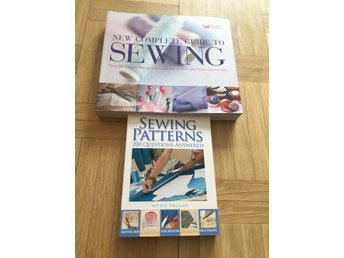 Two sewing books in English