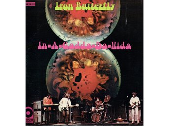 IRON BUTTERFLY - IN-A-GADDA-DA-VIDA. LP